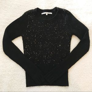 🖤gold sequin sweater🖤